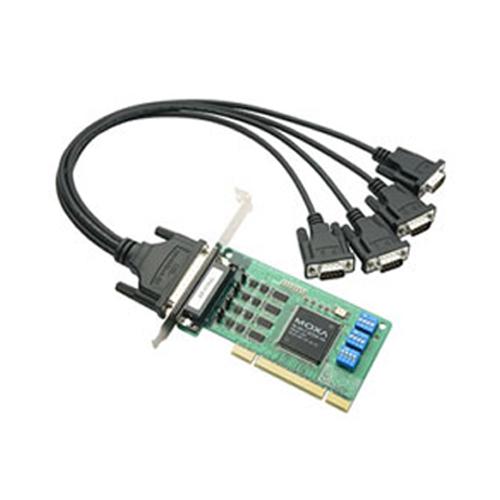 [MOXA] CP-114UL-DB9M 4-port RS-232/422/485 Universal PCI Serial Boards