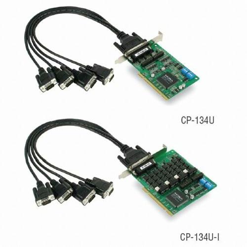 [MOXA] CP-134U-DB9M 4-port RS-422/485 Universal PCI Serial Boards