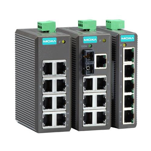 [MOXA] EDS-205 5port entry-level Unmanaged Ethernet Switches