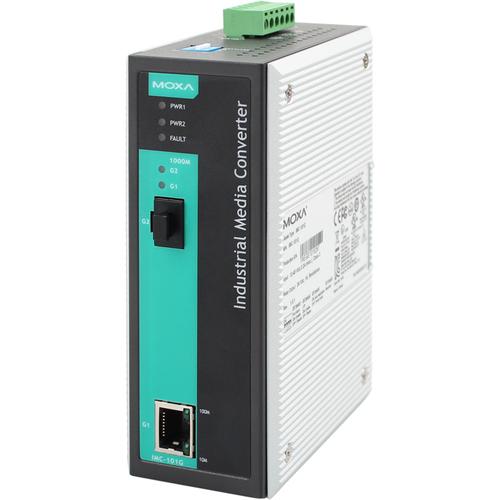 [MOXA] IMC-101G Industrial Gigabit Ethernet to Fiber media converter
