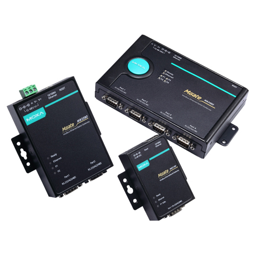 [MOXA] MGate MB3180 1, 2, and 4-port standard Serial-to-Ethernet Modbus Gateways