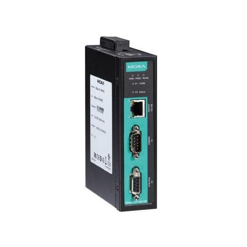 [MOXA] MGate 4101I-MB-PBS-T 1-port Modbus RTU/ASCII-to-PROFIBUS slave Gateways