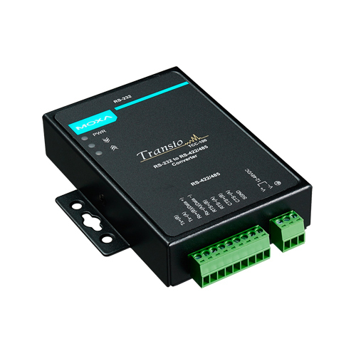 [MOXA] TCC-100 Industrial RS-232 to RS-422/485 Converters with optional 2 kV isolation