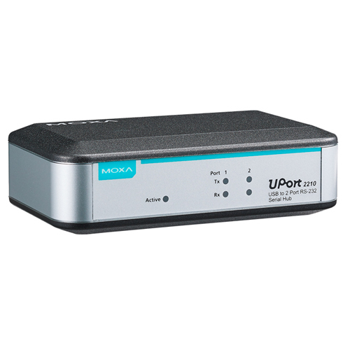 [MOXA] UPort 2210 2-port RS-232 USB-to-Serial Converters