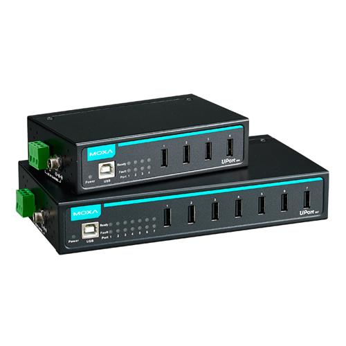[MOXA] Uport 407 7-port Industrial-grade USB hubs