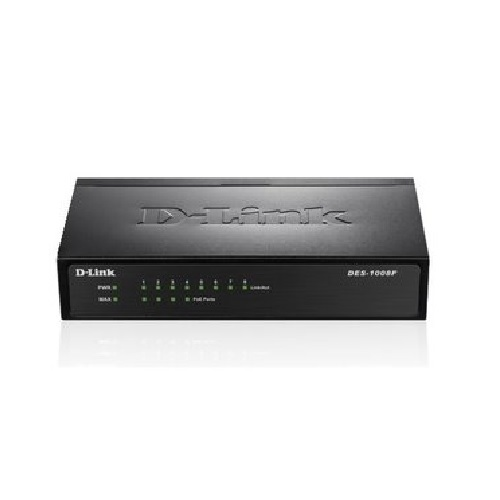 [DLINK] DES-1008P 8Port(4PoE) 10/100Mbps 58W PoE Switch