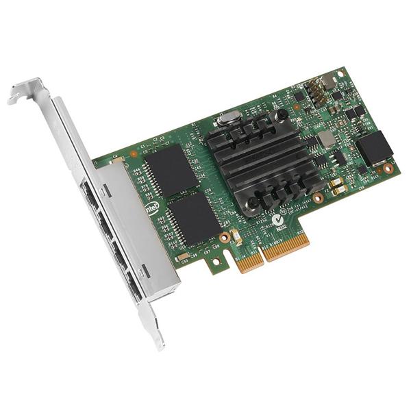 [INTEL] I350-T4 쿼드포트 10/100/1000Mbps  네트워크 어댑터