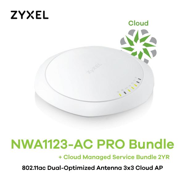 [ZyXEL] NWA1123-AC PRO Bundle 클라우드 매니지드 서비스 2년번들