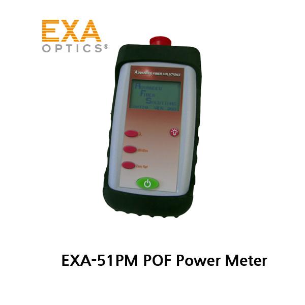 EXA-51PM POF 광파워메타 Power Meter 650nm