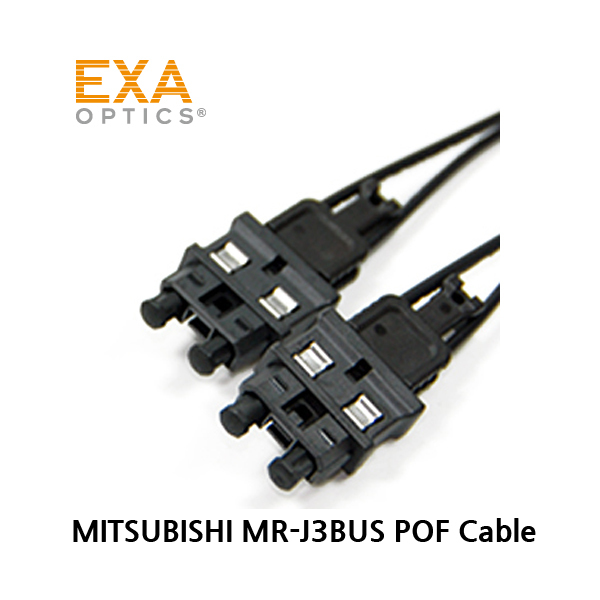 [EXA] MITSUBISHI MR-J3BUS 30cm Plastic Optical Fiber Cable 1m -650nm