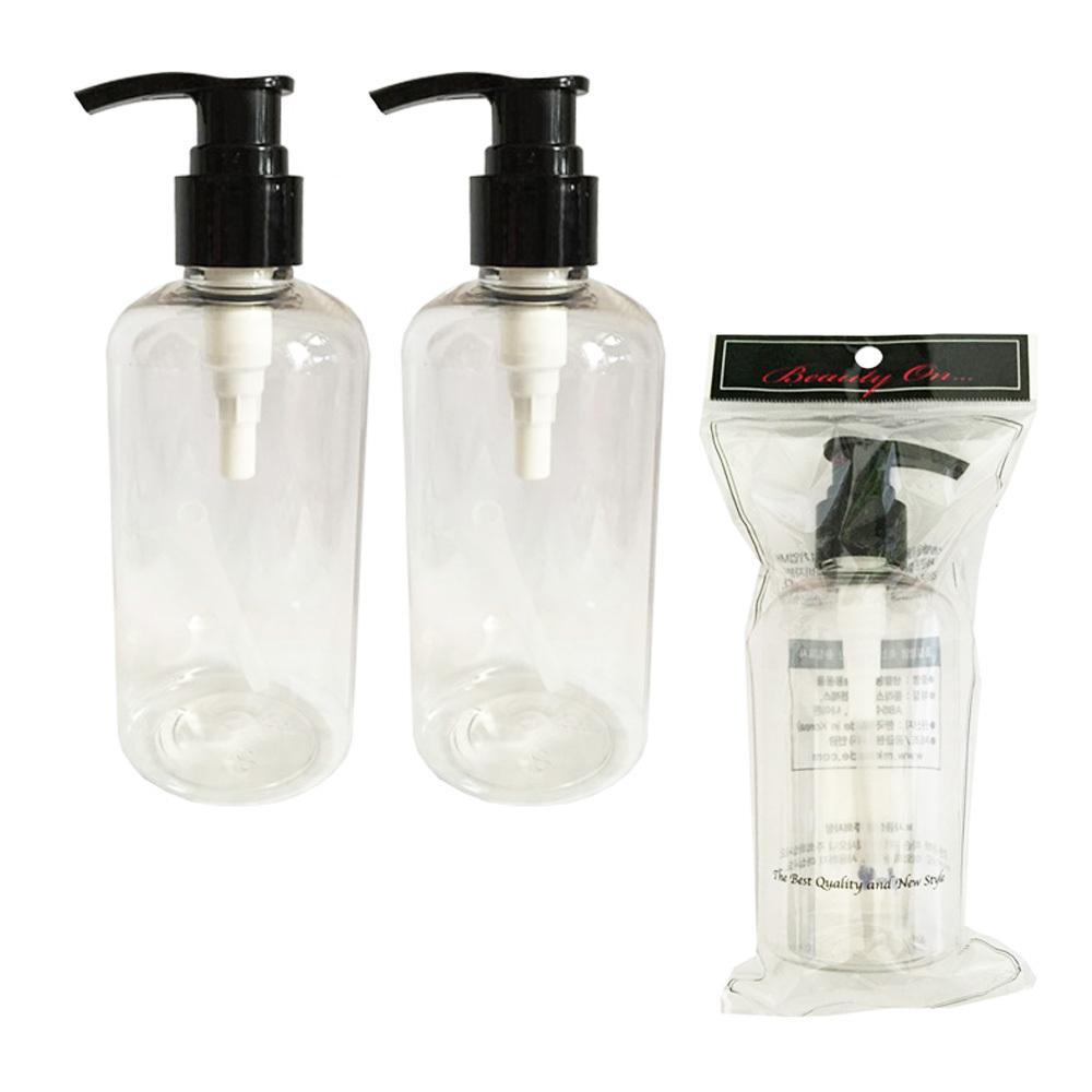 투명 리필펌프용기 250ml 3개]