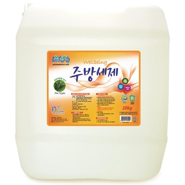 보건복지부 1종 주방 세제 친환경 주방세제 20kg