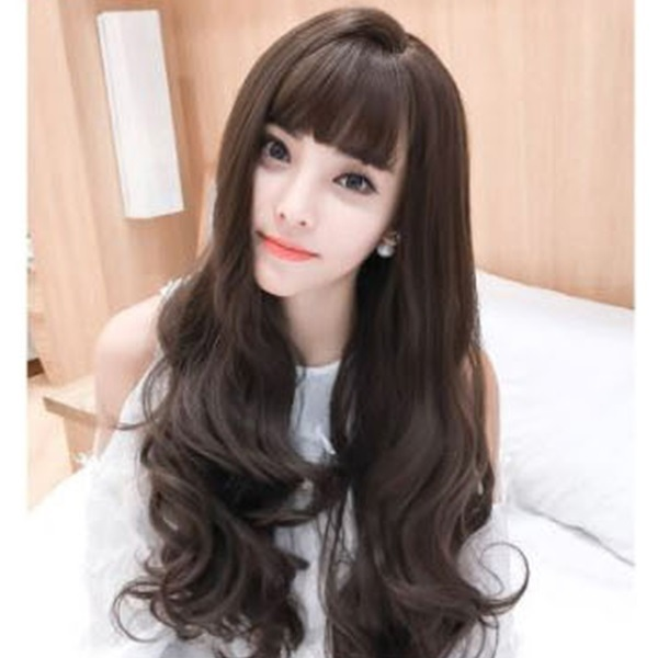여신머리 웨이브가발 여성가발(망포함)