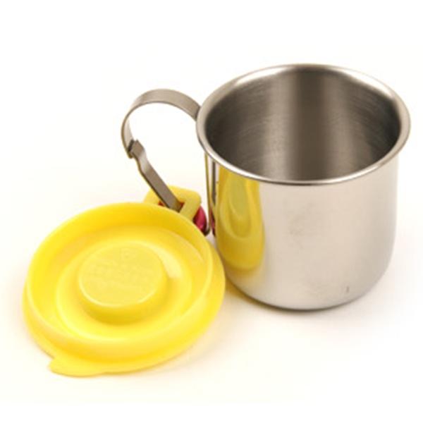 카네이션 소주잔 3호 (나침반) 스텐 등산용컵 소주컵