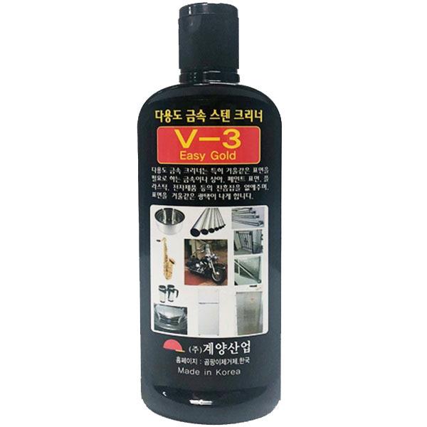 계양 금속 V-3스텐크리너 200ml 광택제 세정제 연마제☆
