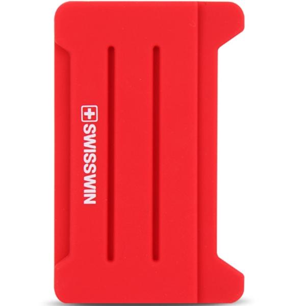 스위스인 카드수납 핑커 포켓 휴대폰 핸드폰 부착