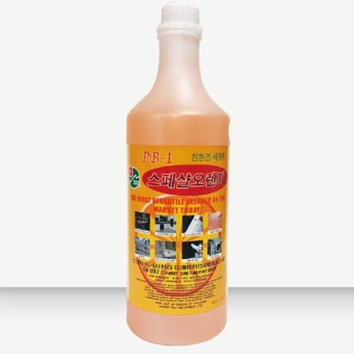 오렌지 세정제 리필용 PB-1 1050ml 5개 탈취 살균