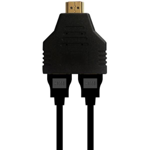 HDMI 선택분배기 Y분배 젠더 모니터 영상 선택기