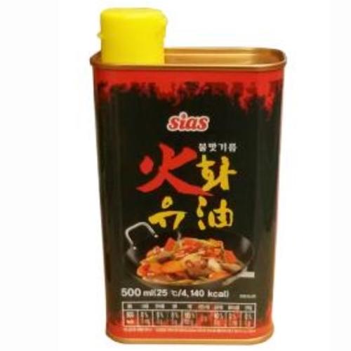 시아스 화유 500ml 불맛기름 스모크향