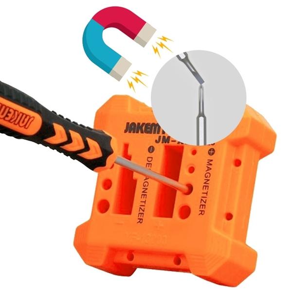 드라이버 자화기 사각 소자기 마그네틱 자석