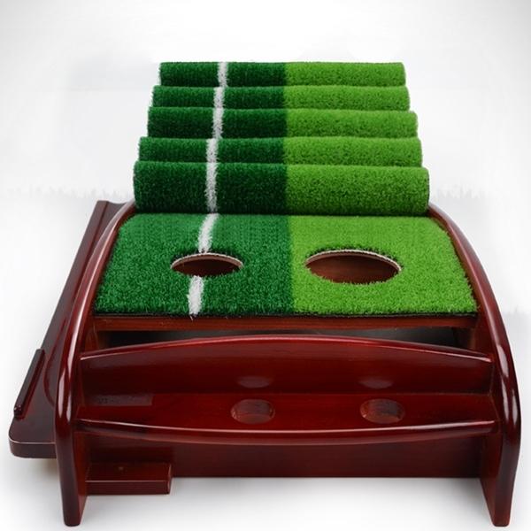 퍼팅 연습기 일반형/원목형 골프/매트/연습용품