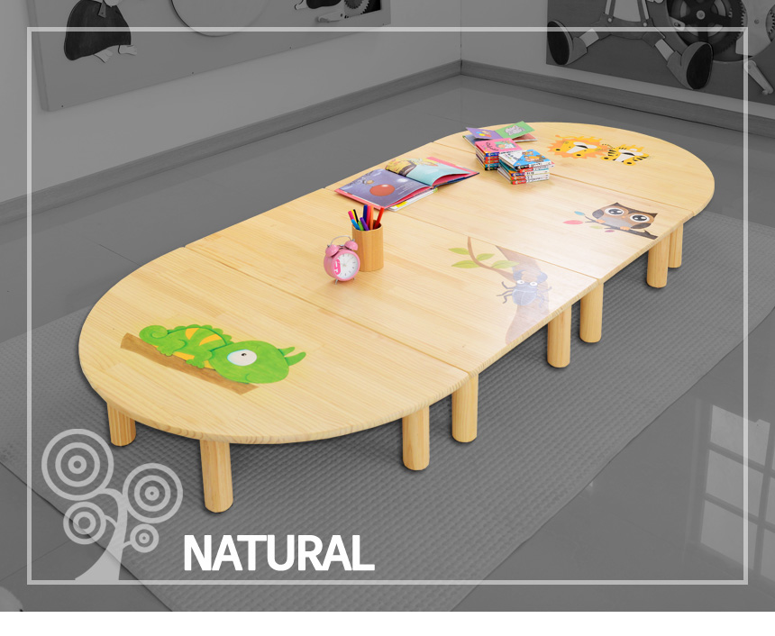 어린이 숲속친구 좌식책상 시리즈(CJ016-CJ017) - 햇살맑은집, 105,000원, 가구, 테이블/책상