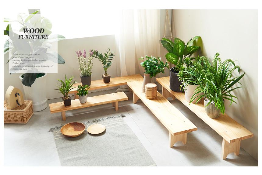 원목 특대형 화분 정리대 - 동화속나무, 33,900원, 가드닝도구, 화분대/화분받침