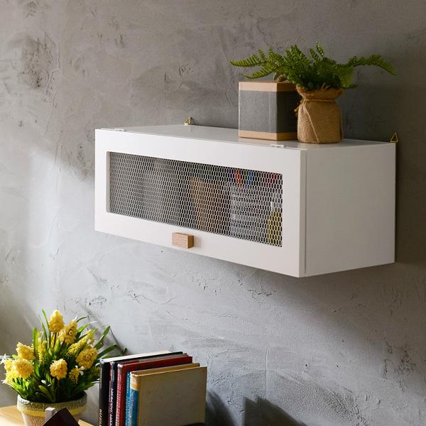 나무요리사 원목 수납 단문 벽걸이선반장(MD019)