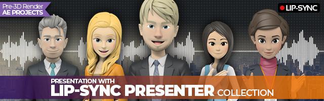 Stylish Presenter Set 1 - 6