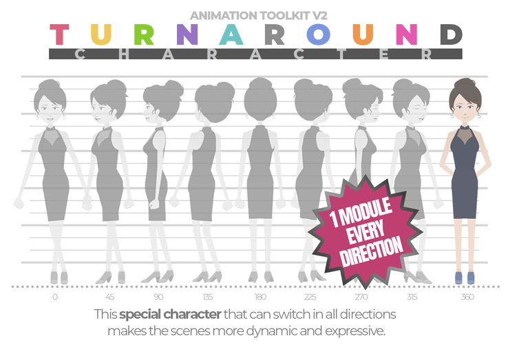 Turnaround Character Animation Toolkit - 1