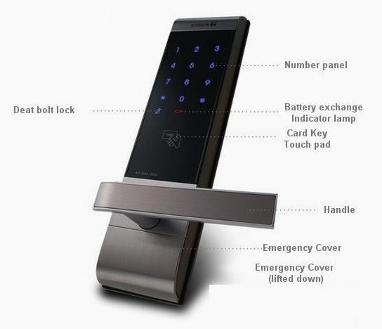 Irevo Gateman V100 Digital Keyless Door Lock With English ...
