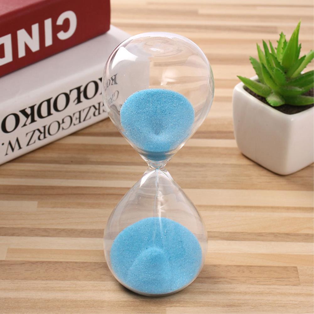 학생선물 문제풀이 글라스 10분 모래시계 인테리어