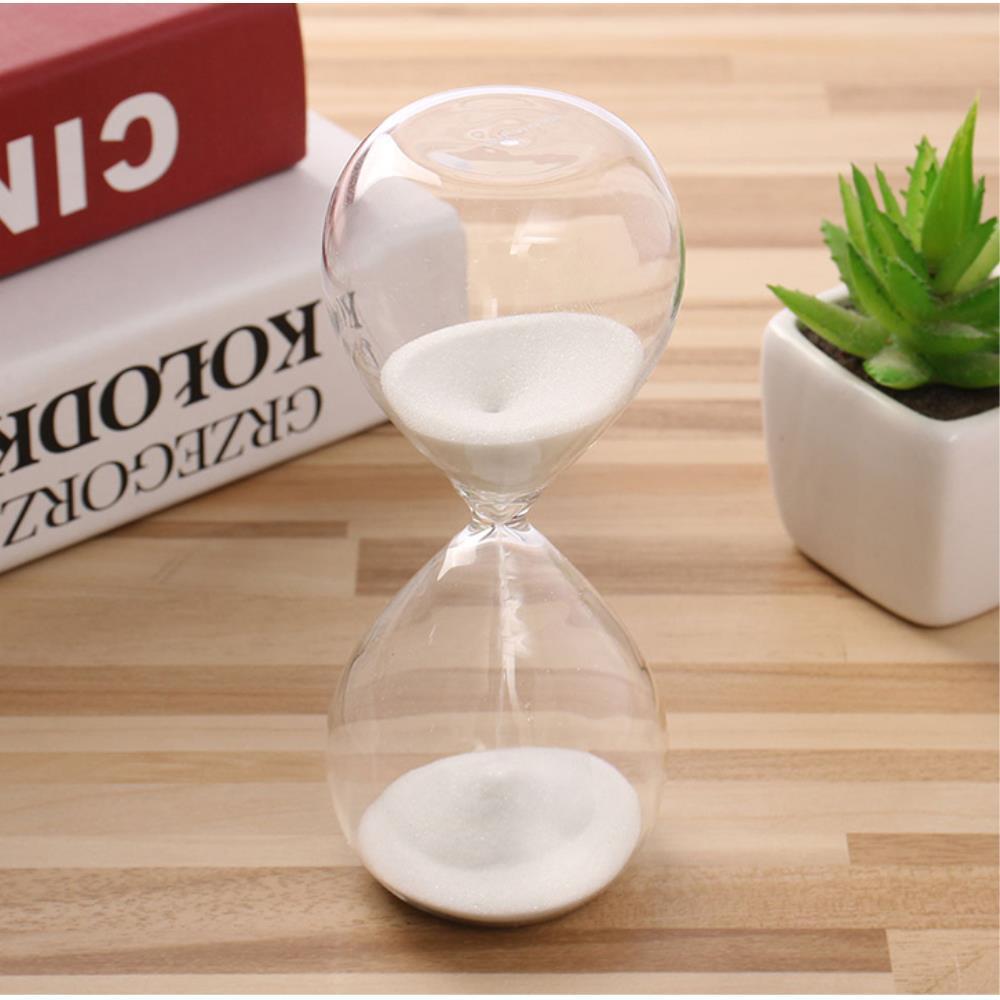 카페 인테리어 소품 유리 10분 모래시계 거실모래시계