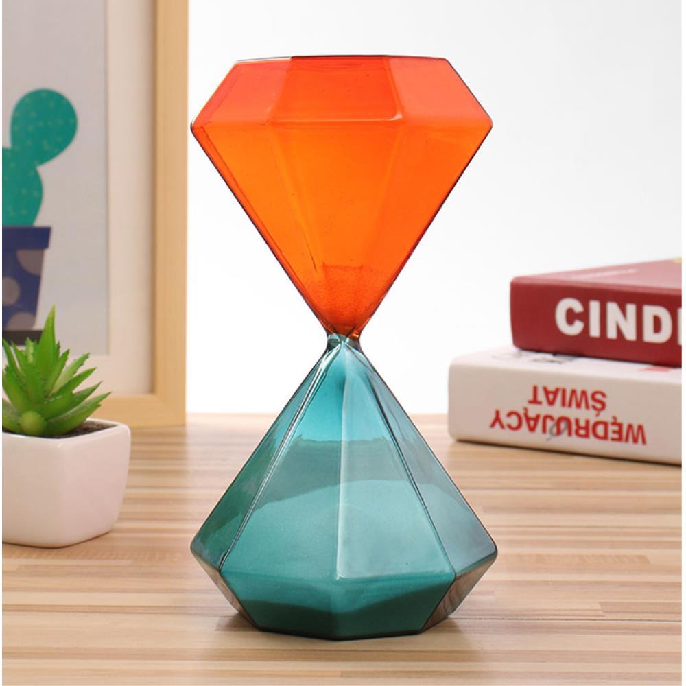 테이블 장식 소품 글라스 30분 모래시계 탁상시계장식