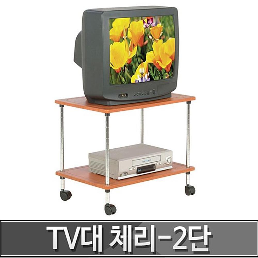 원룸 자취방 텔레비전 다이 2단 TV 선반 소품선반