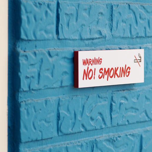 금연구역 안내표지판