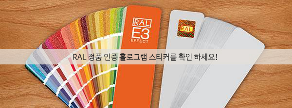 RAL COLOR 정품