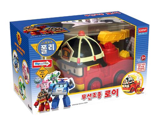 Roy robocar poli radio control robot korean tv animation kids gift rc car toys ebay - Radio car poli ...