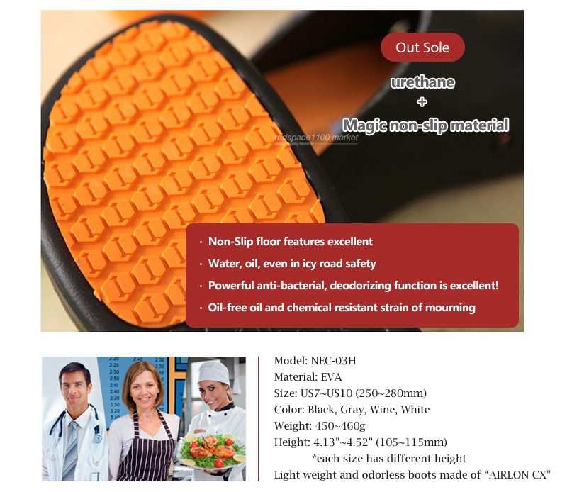 Details about NEW Clogs Best Chef Shoes Kitchen Bathroom Nonslip