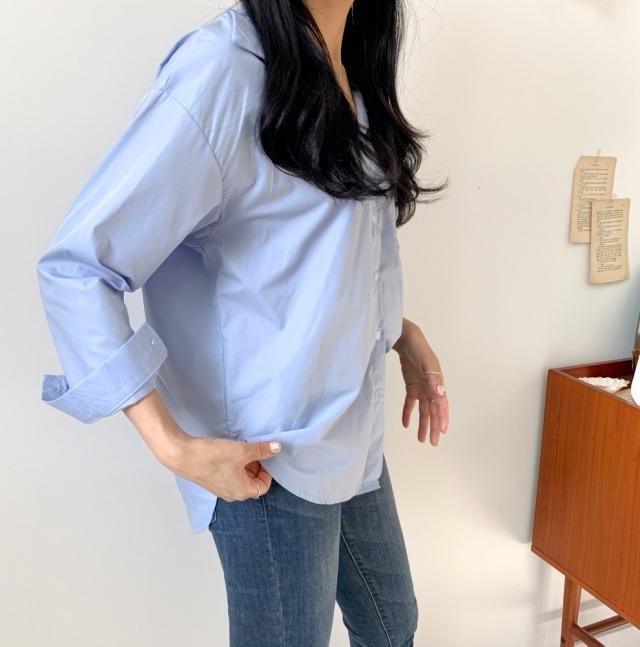 데일리 베이직 셔츠(2colors)