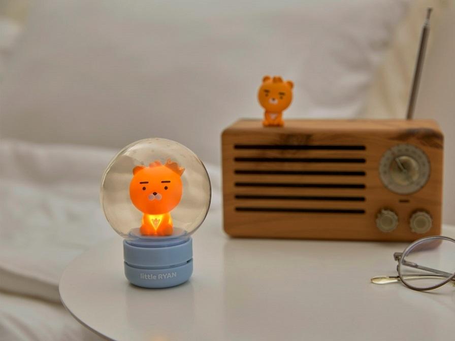 5 x 3 Inteco KAKAO FRIENDS Ryan Mini Humidifier Light