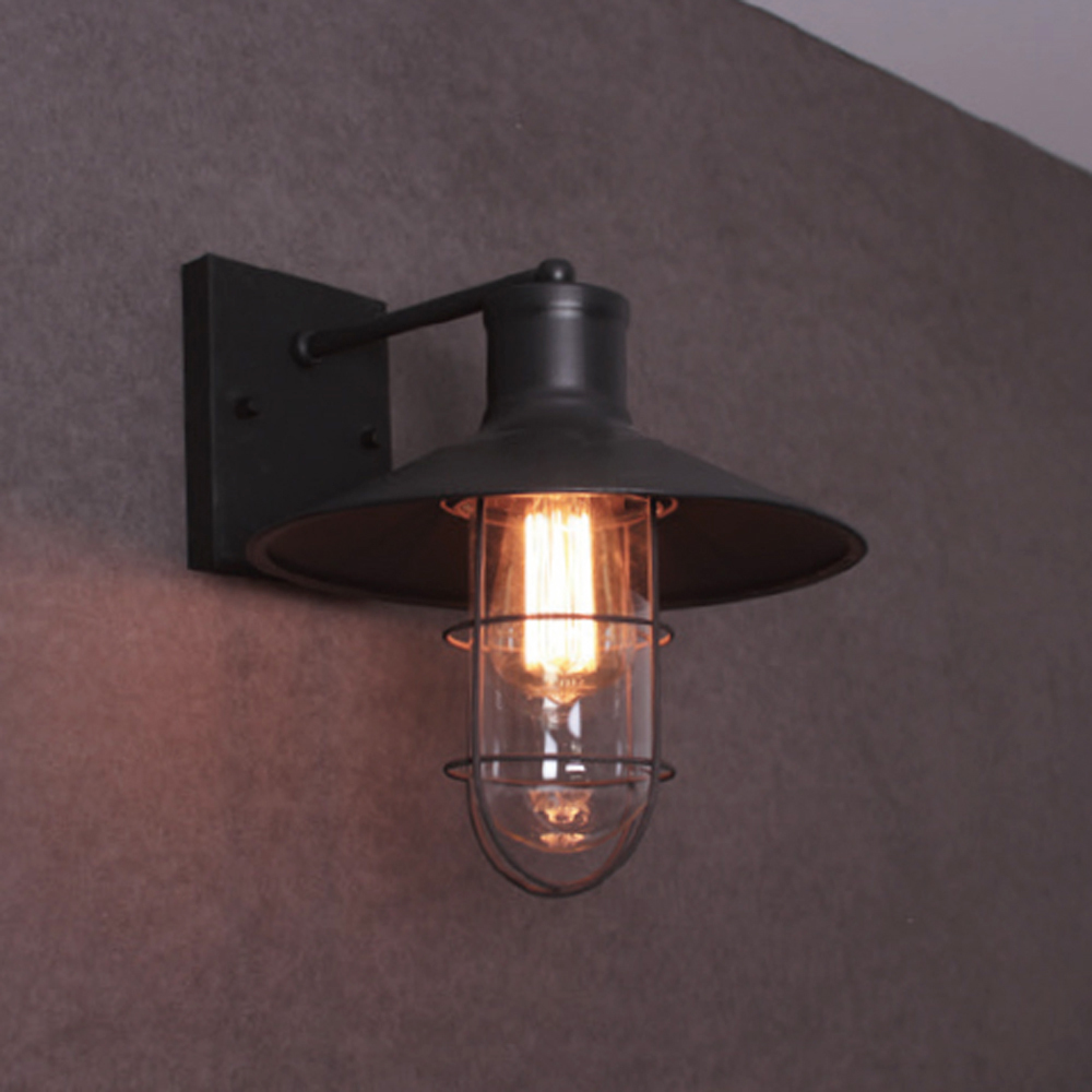 에디슨망 1등 벽등(블랙) 11W(LED11wx1) 클래식