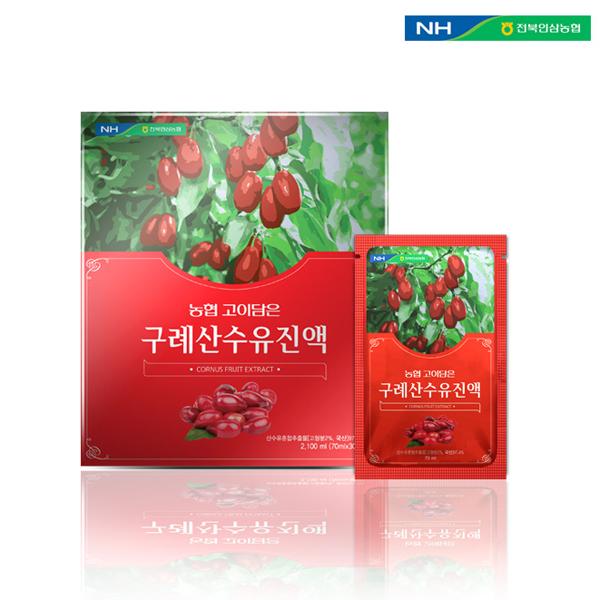홍도매,전북인삼농협 [고이담은] 구례산수유진액 70ml x 30포