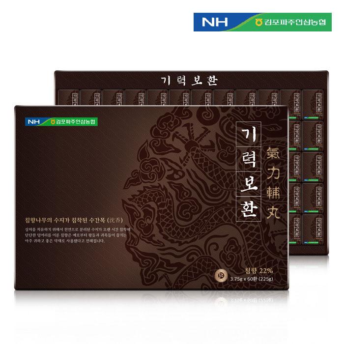 [김포파주인삼농협] 동의삼 기력보환 3.75g x 60환