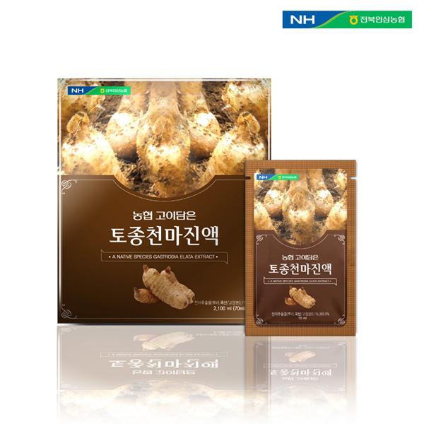홍도매,전북인삼농협 [고이담은] 토종천마진액 70ml x 30포