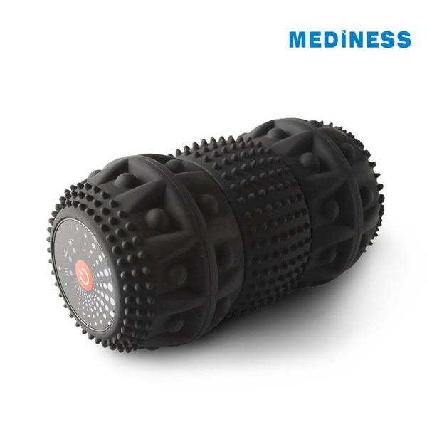 [메디니스] 롤리폴리 진동 요가롤러 MRP-100(그레이), MRP-200(블랙)