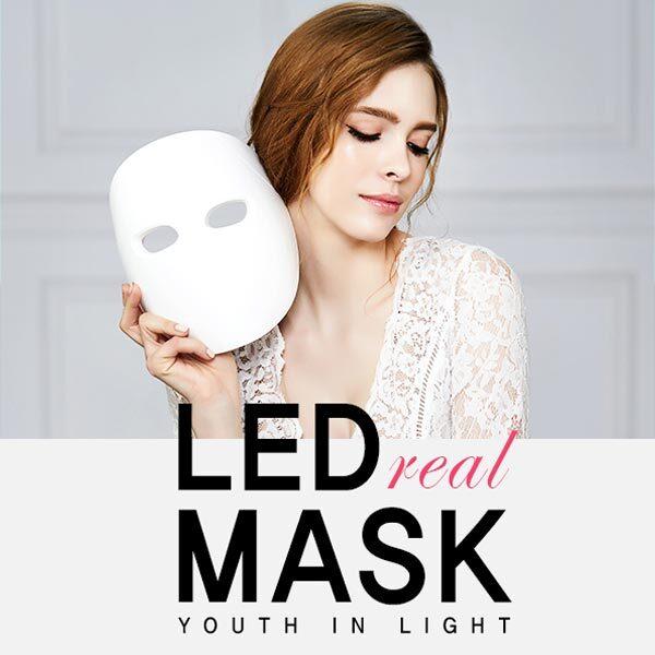 홍도매,[솔루미에스테] LED 리얼마스크 가정용 홈케어 피부관리기