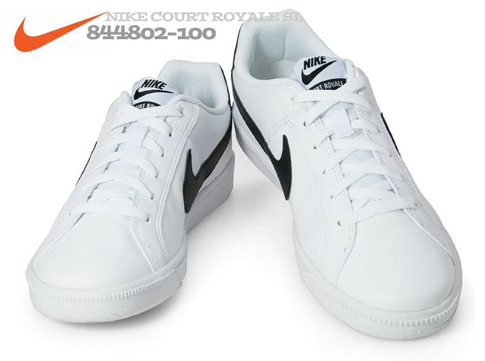e8f69fa4167 [나이키] 일본 나이키 코트 로얄 SL 흰검 844802-100 인기모델 - 11번가