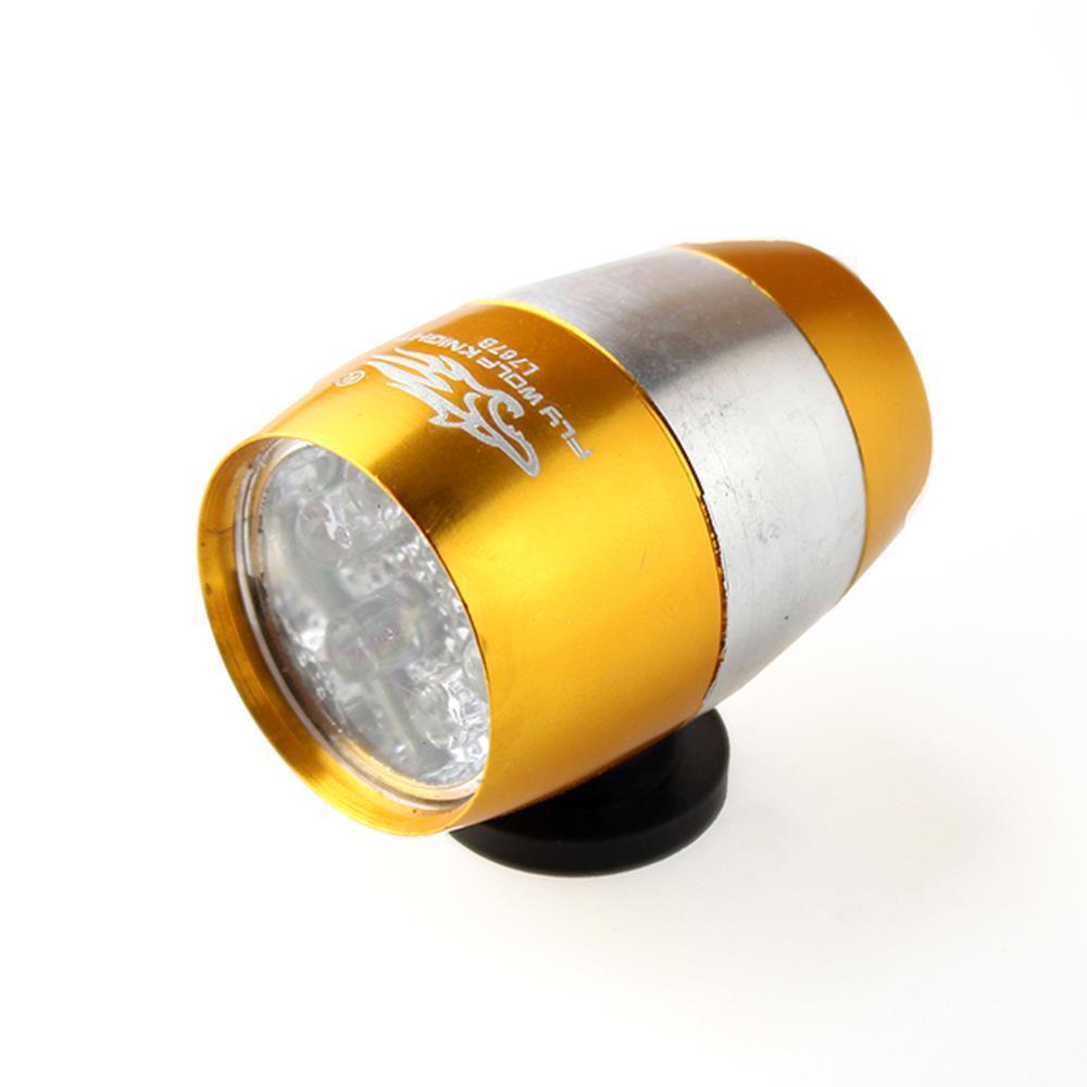 전후면 6구 LED 자전거라이트 전조등 튜닝 후미등