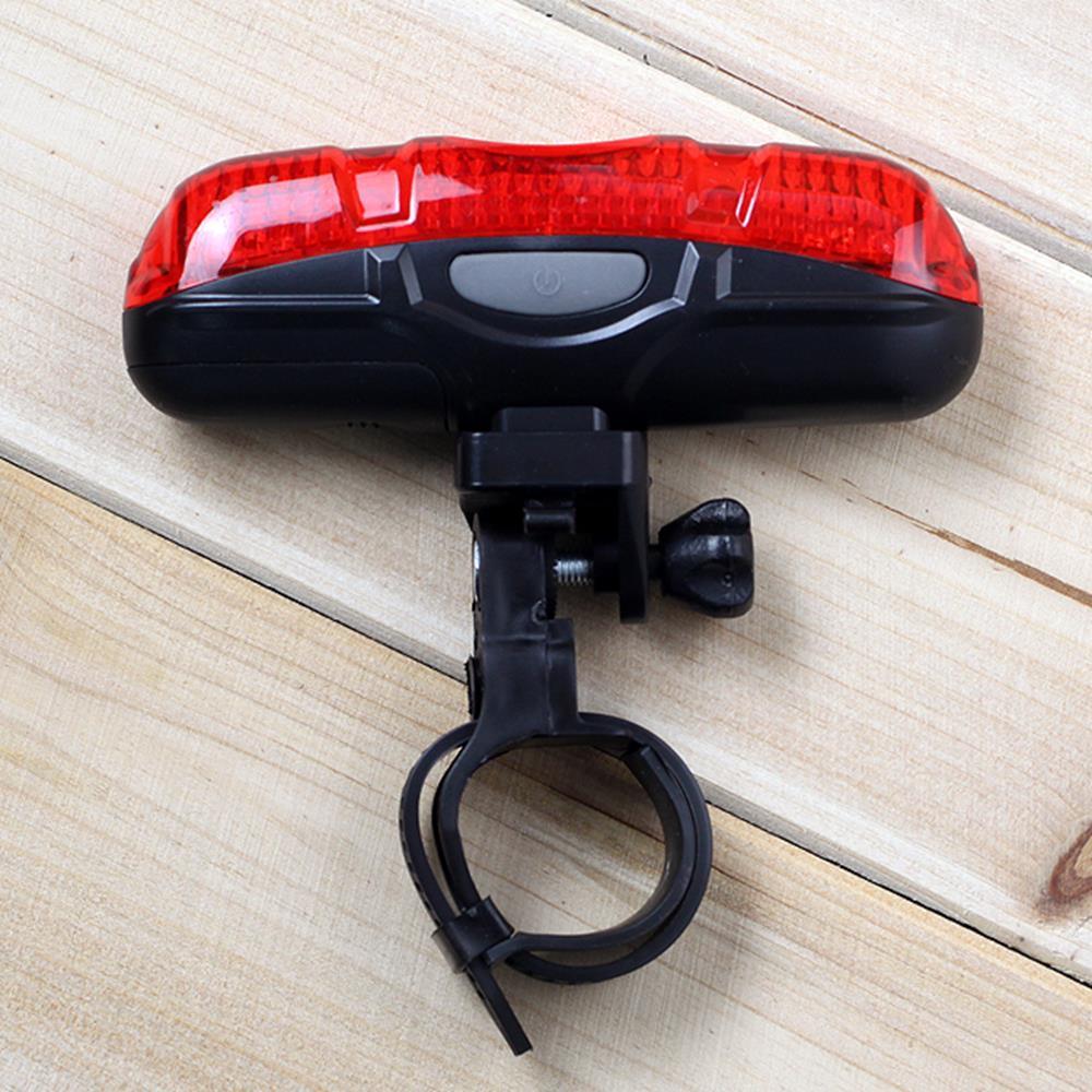 5구 안전 자전거 후미등 라이트 문라이트 탈착형 LED